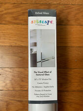 "Etched Glass Window Film 36"" x 72"", Artscape, Textured Glass Model 01-0122"