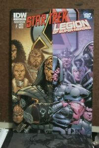 STAR TREK LEGION OF SUPER-HEROS #3  COVER A 1ST PRINT IDW DC COMICS (2012)