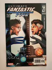 ULTIMATE FANTASTIC FOUR #21 (F/VF) 2005 1st MARVEL ZOMBIES APPEARANCE; VARIANT