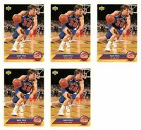 (5) 1992-93 Upper Deck McDonald's Basketball #P8 Mark Price Card Lot
