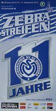 Programm 2014/15 MSV Duisburg - SV Darmstadt