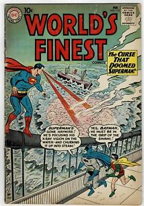 World's Finest #115 DC 1961