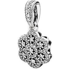 PANDORA Charm Element 390392 CZ Silber Bead