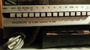 Tandberg Receiver tr 1000, Designklassiker