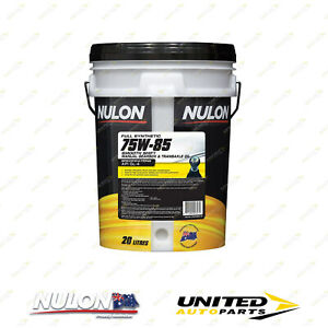 NULON Full Synthetic 75W-85 Manual Gearbox & Transaxle Oil 20L for VOLVO S70