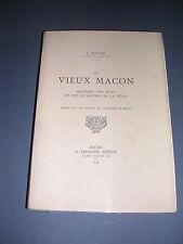 Macon G. Jeanton le vieux Macon Histoire des rues et des quartiers 1934