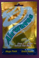 2 x Wrigley's Airwaves Chewing Gum Sugarfree - HONEY& LEMON -MEGA PACK 75g Net