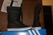 Womens ADidas ADI Honey Boot Boots Black White Sz 7 or 9