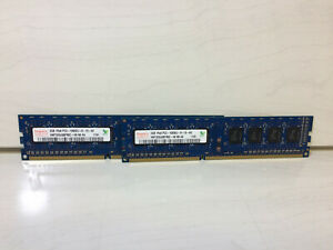 Hynix 2GB 1333MHz 1Rx8 PC3-10600U UDIMM DDR3 PC Desktop RAM Memory - 4GB Set