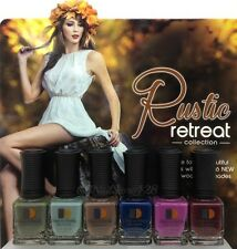 LeChat Nail Lacquer .5oz- Rustic Retreat- FALL Collection- 6 shades DW168- DW173