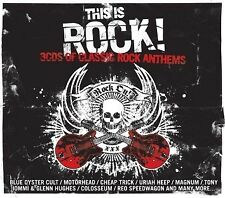 THIS IS ROCK 3CD ROCK ANTHEMS SEALED NEW 2009 Uriah Bizkit Motorhead MC5 Iommi