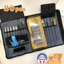 80xMac Repair Tool Kit Laptop Precision Screwdriver Set Magnetic Watch Cell Phon