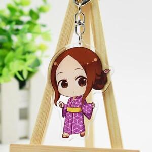 Teasing Master Karakai Jouzu no Takagi-san Anime Acrylic Transparent Keychain B