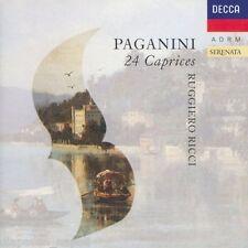 Paganini: 24 Capricci (Caprices) / Ruggiero Ricci - CD