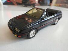 Solido Custom Build Ford Sierra Cabriolet in Black on 1:43