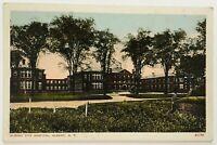Postcard Albany NY Albany City Hospital Wide Angle View 1910's 1920's New York