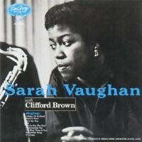 SARAHVAUGHAN/CLIFFORD BROWN - S.V. WITH CLIFFORD BROWN  CD  10 TRACKS JAZZ  NEW