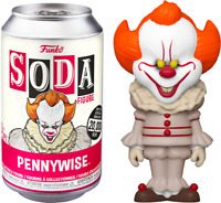 FUNKO POP! - SODA COLLECTOR CAN - IT ( 2017) PENNYWISE - LTD ED - PREORDER
