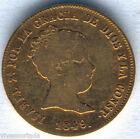 Isabel II 80 Reales 1849 Madrid C. L.Gold @ Bella @