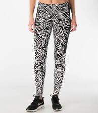Nike sz XS  Women's Leg-A-See Printed Tights  NEW 739967 010 Black/White