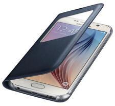 Samsung S-VIEW Ventana Abatible Funda Cobertor de Alta Calidad para Galaxy S6 -
