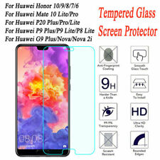 For Huawei Mate 10 Lite P20 Pro P10 Plus Tempered Glass Screen Protector Film G1