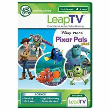 Leap Frog Learning Library Leap TV Disney Pixar Pals Plus NEW Sealed