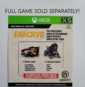 Far Cry 6 Preorder Bonus Xbox One  Series X   S