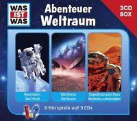 WAS IST WAS - 3-CD BOX - VOL.6: ABENTEUER WELTRAUM 3 CD NEU