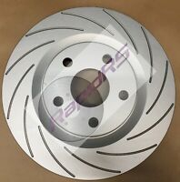 MINI COOPER S 1.6  DISC BRAKE ROTORS SLOTTED PERFORMANCE GROOVED 276mm + pads