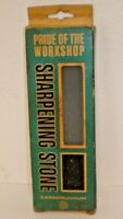 "Vintage NOS Carborundum #124 Fine Sharpening Stone w/ Box 6"" x 2"" x 5/8"" Unused"
