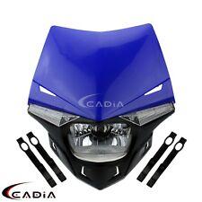 Enduro Headlight Head Light Fit Yamaha YZ YZF WR WRF DT XT 250 XT 660R 660X 660Z