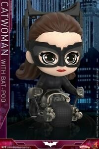 Hot Toys COSB725 The Dark Knight Rises Catwoman w/ Batpod Cosbaby Doll
