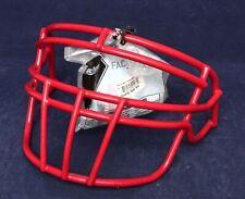 Nos Schutt Super Pro Ropo-Dw Football Helmet Facemask w/ Clips > Scarlet Red