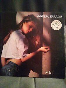 Vanessa Paradis M And J Vinyl Lp