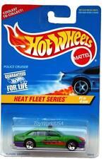 1997 Hot Wheels #537 Heat Fleet #1 Police Cruiser 0910 crd