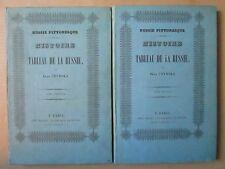 CZYNSKI : RUSSIE PITTORESQUE, 1837. 2 vol. cartonnage éditeur, 48 planches