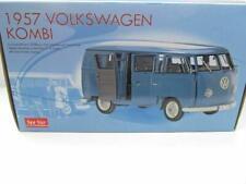 Volkswagen VW T1 Bus Familiar Azul en 1:12 Sunstar 1957 Nuevo 5061