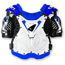 UFO Shield Protector Adult Body Amrour MX Motocross Enduro Roost Tabard White