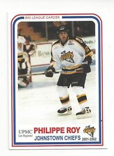 2001-02 Johnstown Chiefs (ECHL) Philippe Roy