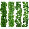 200cm Ivy Leaf Garland Green Plant Plastic Vine Foliage Home Garden Decor AME