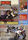 MOTO JOURNAL 1204 Essai Road Test HONDA CBR 900 RR CAGIVA Canyon 600 NSR RS 250
