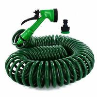 Marksman 10M Metre Reinforced Hose Pipe Reel Hosepipe Water Garden Watering