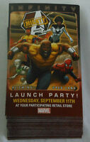 Dealer's Lot of 43 comic promo cards~2013 Marvel MIGHTY AVENGERS Launch