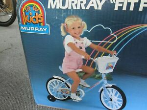 Vintage 1980s Rainbow Brite 16 inch Magic Cycle NOS kid's bicycle Made in USA