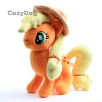 Applejack Plush Doll 30cm / 12'' High Quality Orange Unicorn Horse Stuffed Toy