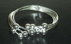 Cuff Bracelet Sterling Silver .925 With Drawstring Pouch NEW #006
