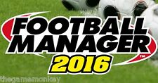 FOOTBALL MANAGER 2016 [PC/Mac/Linux] Steam key
