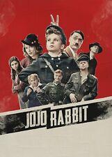 JOJO RABBIT MOVIE POSTER FILM A4 A3 A2 A1 CINEMA PRINT
