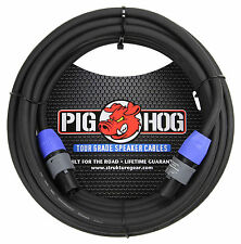 Pig Hog PHSC25SPK Speakon to Speakon 14 Gauge Speaker Cable